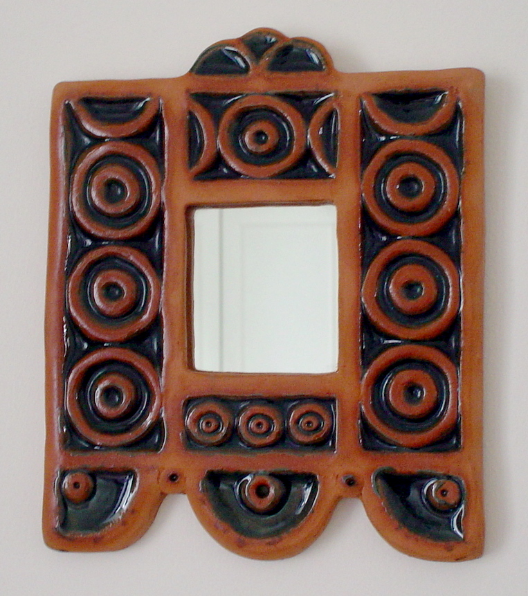 Mirror Tile (No Candle Holder)